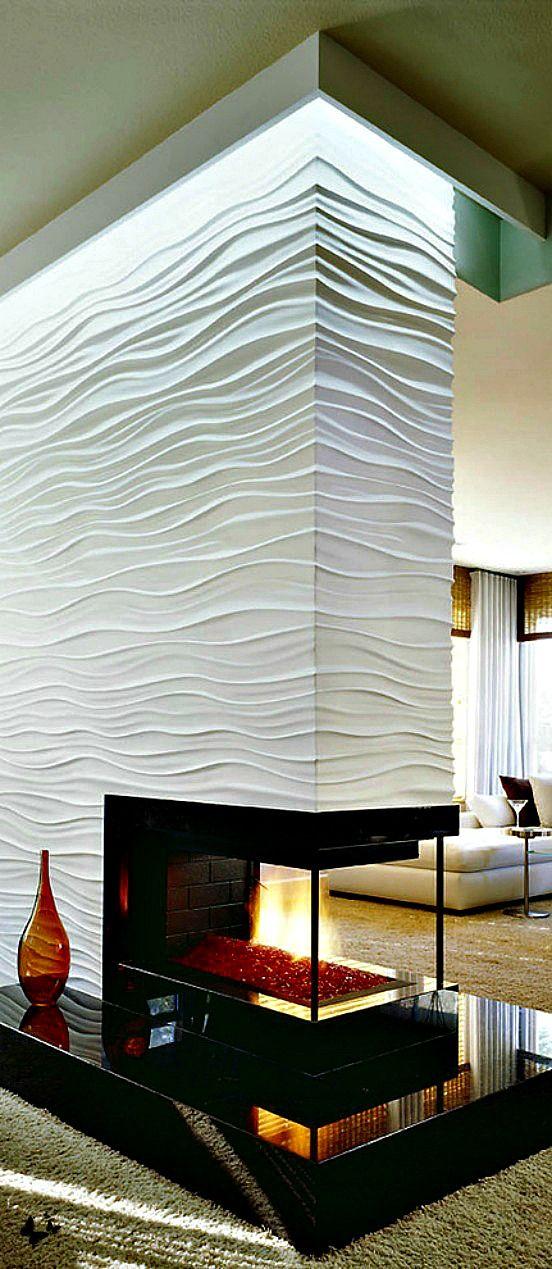 17 Modern Fireplace Tile Ideas Best Design