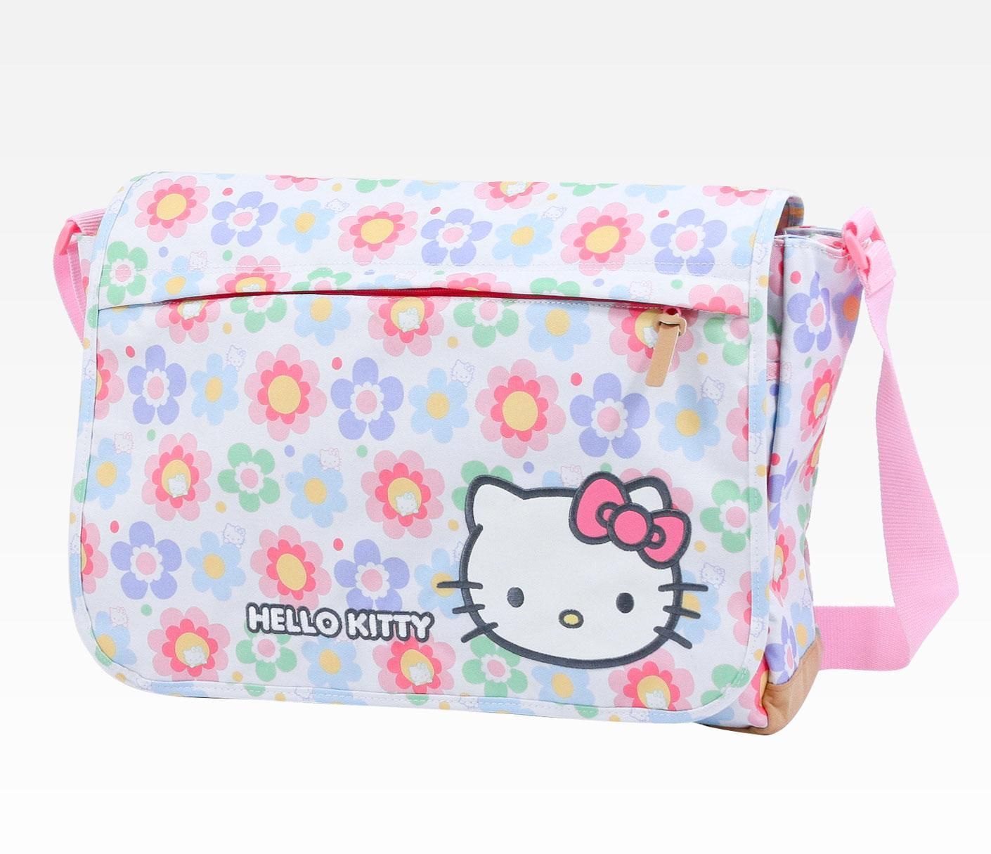 Hello Kitty Messenger Bag  Pattern Flower  6867b5b383c08