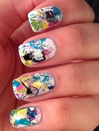9 Best Graffiti Nail Art Designs Pinterest Graffiti Nails Hot