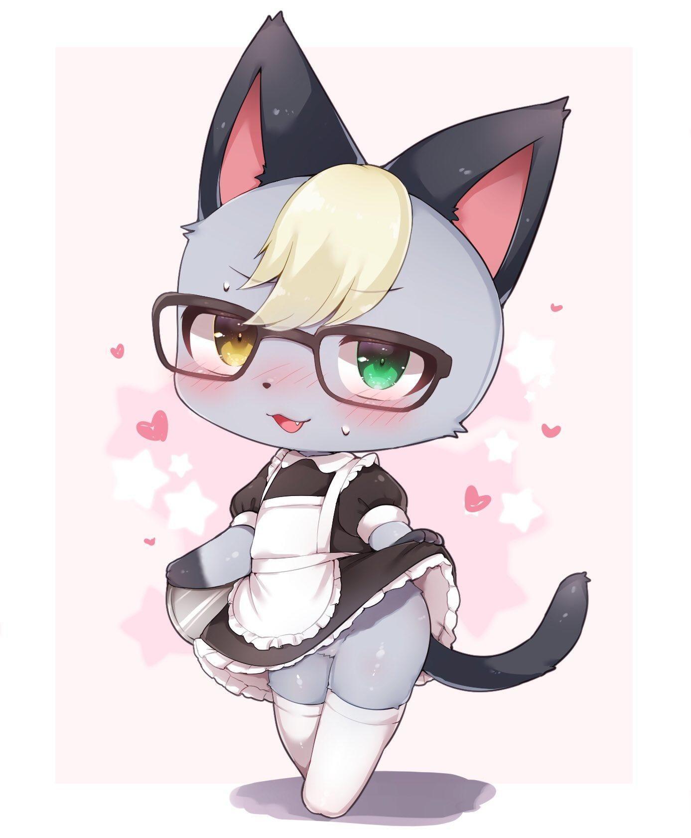 Maid Raymond Raymond In 2020 Animal Crossing Fan Art Animal Crossing Characters Animal Crossing Qr