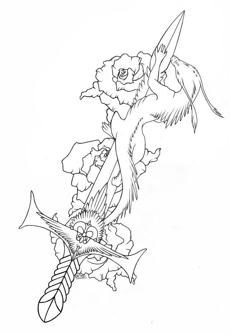 Dragon Lineart By Kkako Deviantart Com On Deviantart Snake