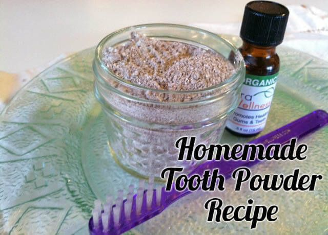 My homemade tooth powder recipe help remineralize teeth, kills bacteria, and supports oral health naturally and inexpensively.
