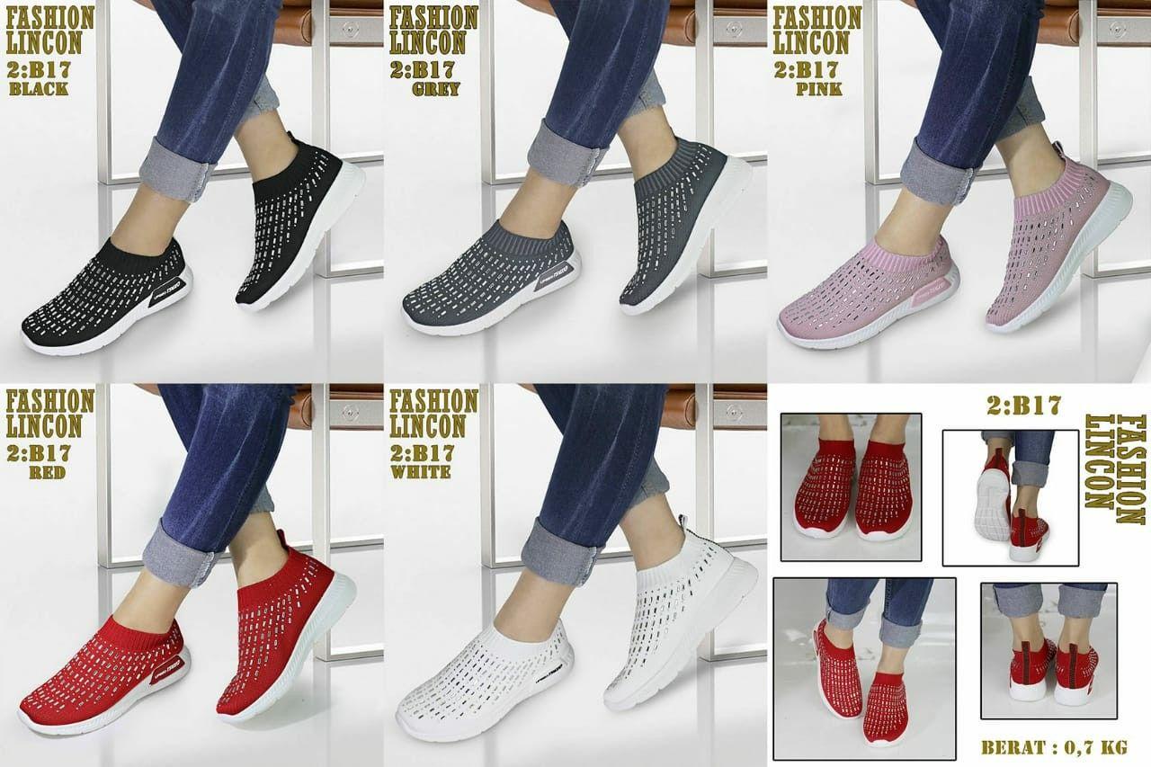 Sepatu Fashion Merk Lincon Seri B17 Kualitas Oryginal Brand