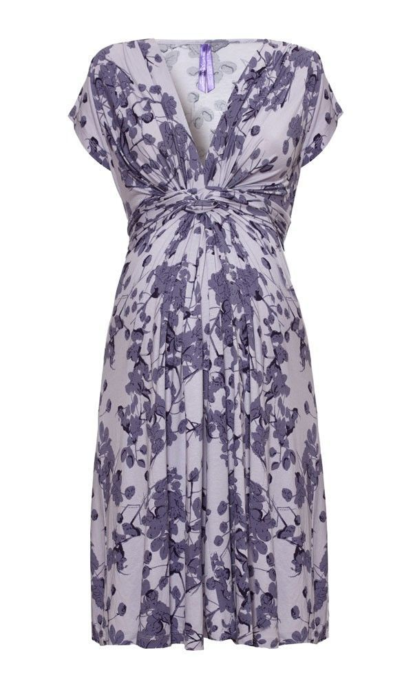 c097a2a8596a9 Seraphine Lavender Blossom Knot Front Dress | My Royal closet ...