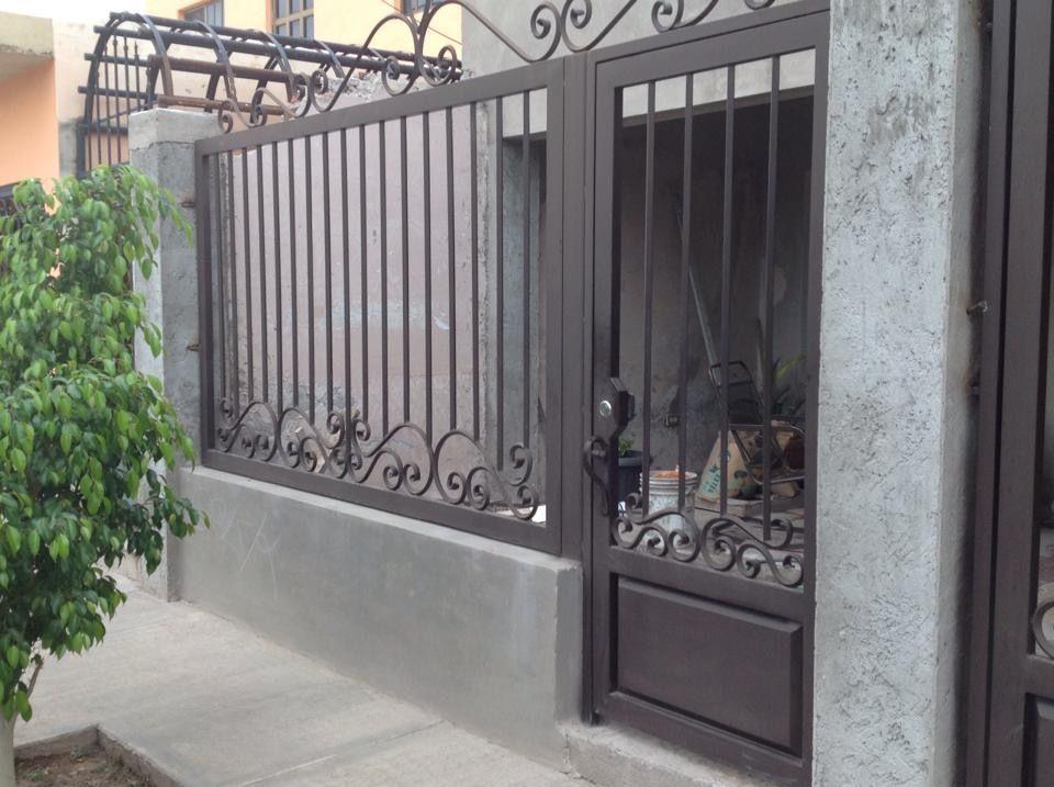 Reja Fierro Rejas Para Casas Puertas Herreria Y Frontis