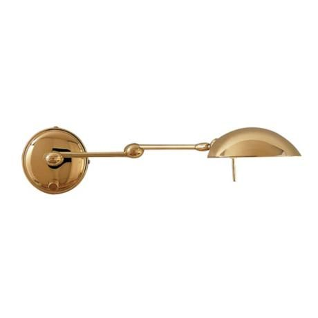 Holtkoetter Polished Brass Halogen Swing Arm Wall Lamp With Images Swing Arm Wall Lamps Wall Lamp Polished Brass