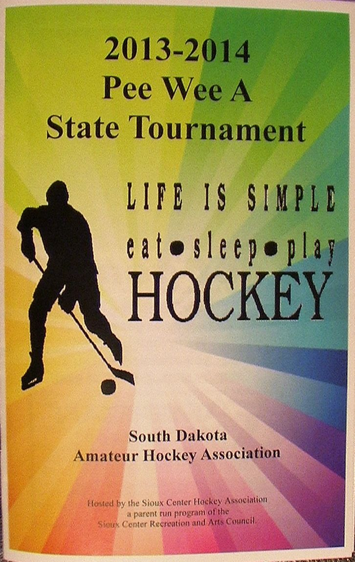The 20132014 Pee Wee A State Tournament was held in Sioux