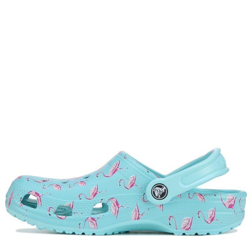 Kids Crocs Classic Teal Boys Girls Mule Clogs Sandals Size