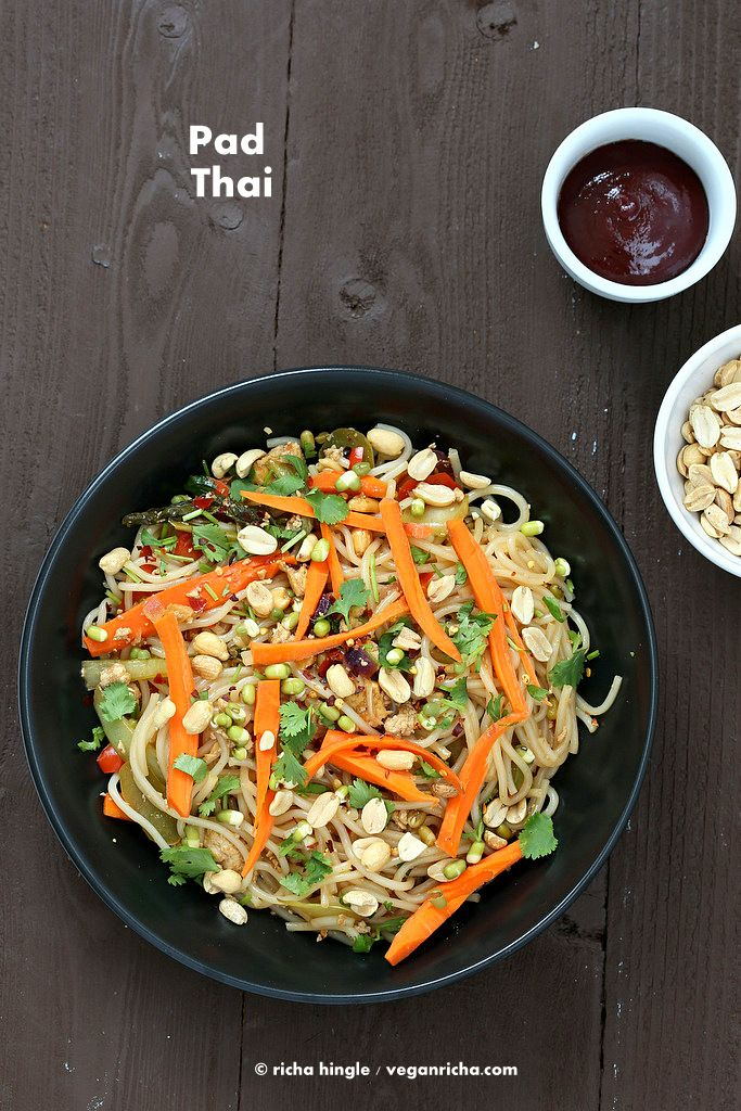 Pad Thai From Everyday Vegan Eats. Book Review and Giveaway!
