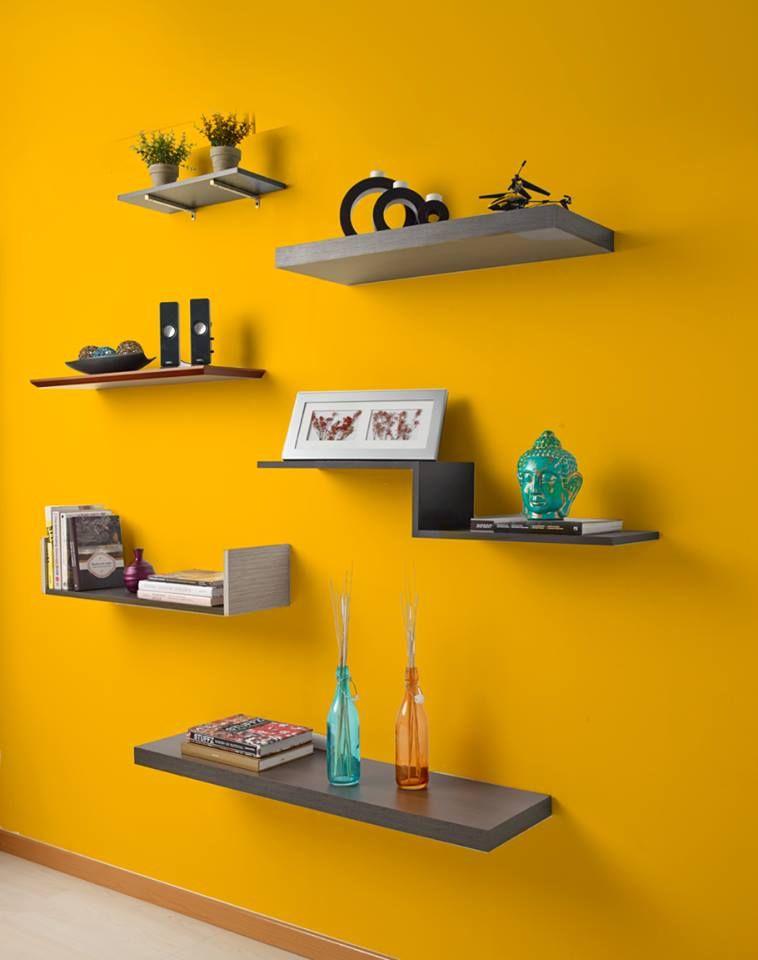 Repisas flotantes casa pinterest ideas para - Repisas de pared ...