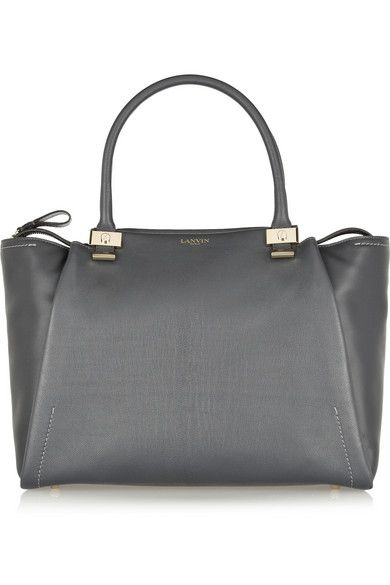 Lanvin - Trilogy leather shopper