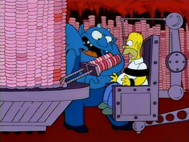 The Simpsons Treehouse Of Horror Iv Los Simpsons Personajes De Los Simpsons Los Simpson