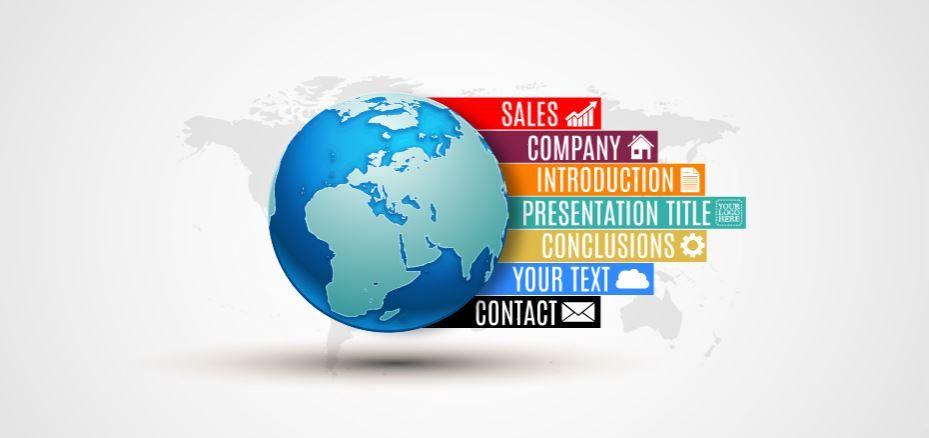 World Business Presentation Template | ShareTemplates
