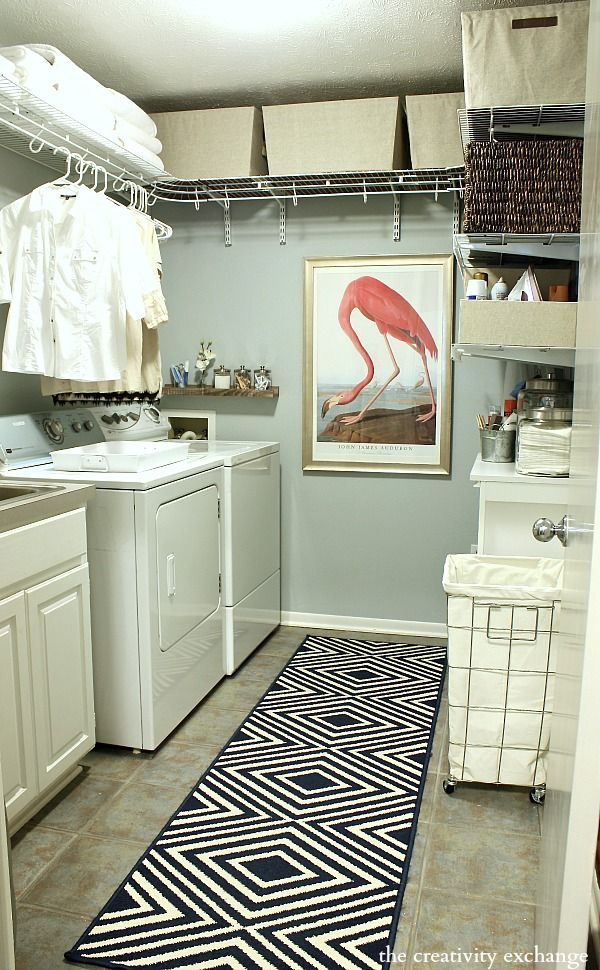 Laundry Room Organizing Revamp Project