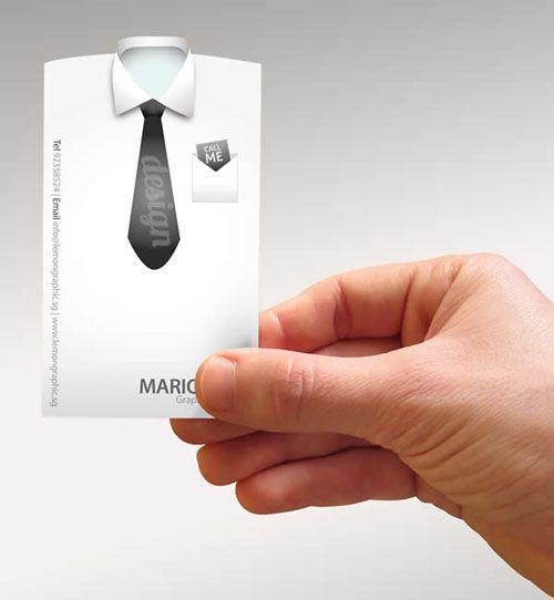 Una tarjeta corporativa de etiqueta ;)