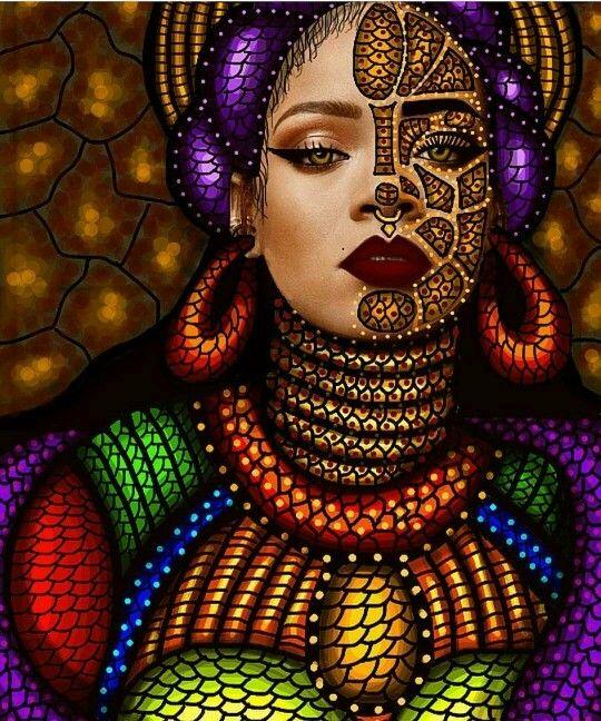 Modern Urban Black Girl: Thick East African Girl
