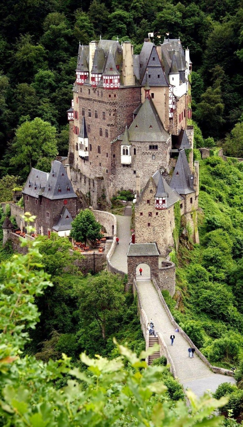 Castle Burg Eltz Near The Rhine Valley 10 Most Beautiful Castles In Europe Germany Castles Beautiful Castles Burg Eltz Castle