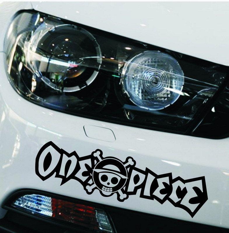One Piece Car Bumper Sticker Decals Motorcycle Bicycle Price - Motorcycle bumper custom stickers