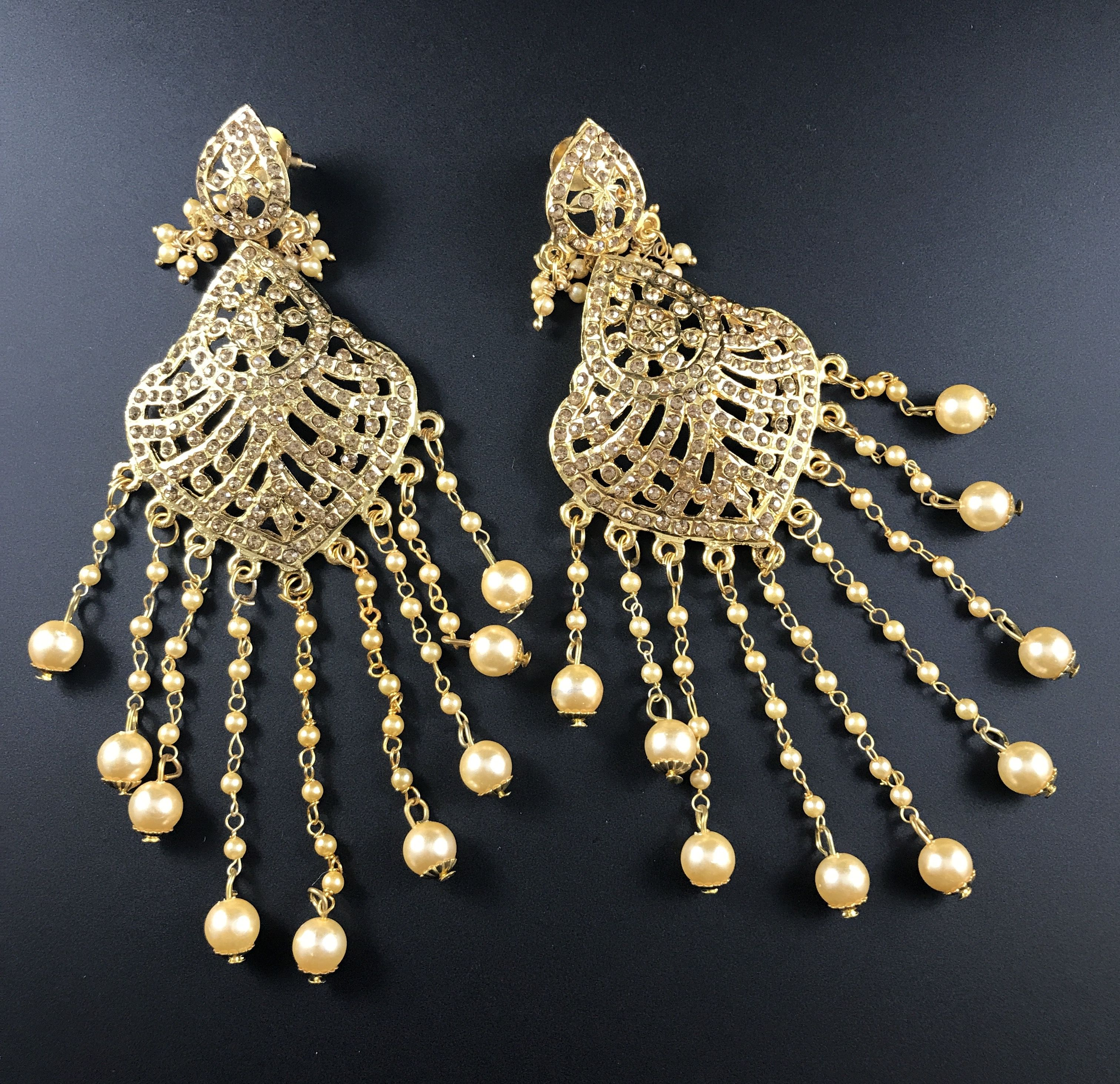 Pin by Bengal Looms on Kundan Jewelry Indian sarees