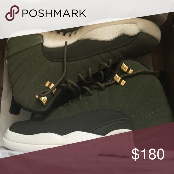 promo code e1cd5 c603b Jordan 12s Olive Green Size 6 Brand new Never Worn Jordan ...