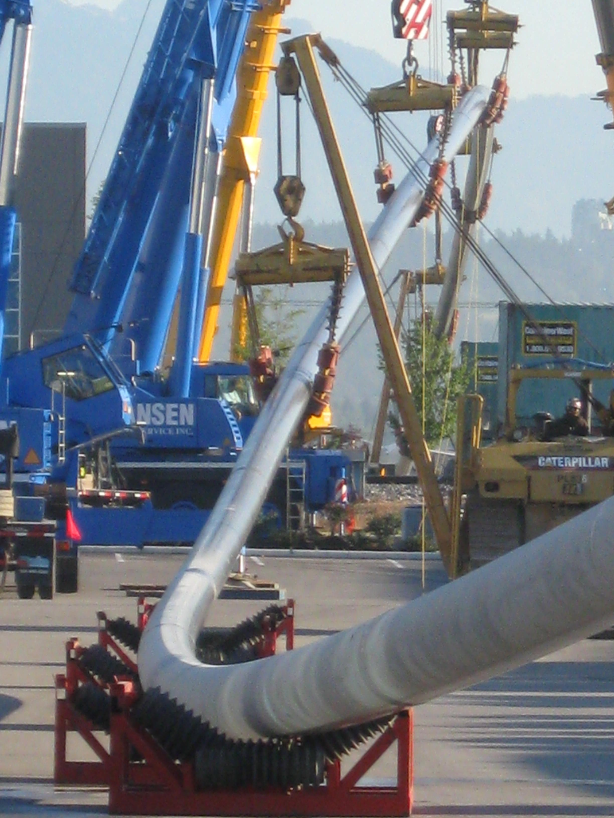 Fortis south fraser river gas line replacement drilling