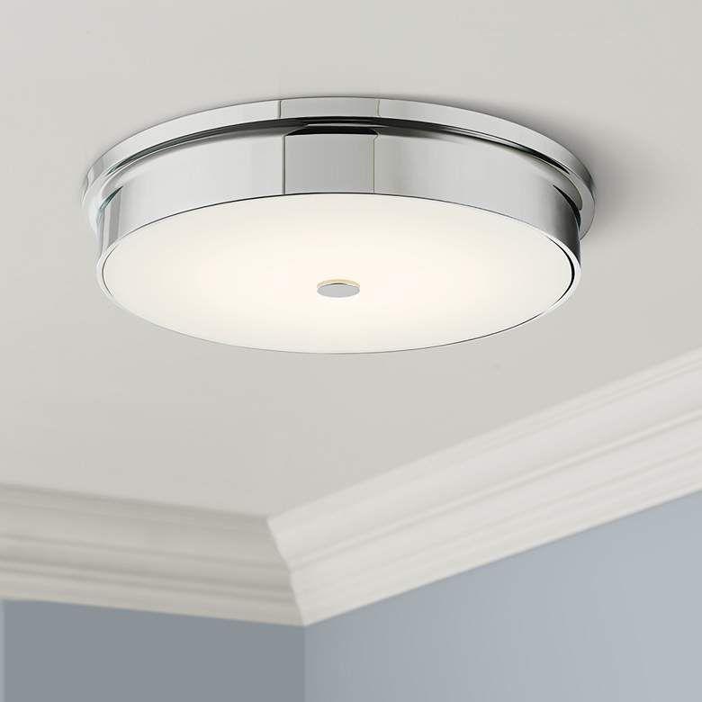 Spark Chrome 15 Wide Modern Led Ceiling Light 42t54 Lamps Plus In 2020 Ceiling Lights Led Ceiling Lights Modern Led Ceiling Lights