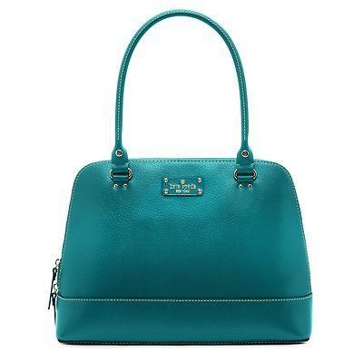 Kate Spade New York Wellesley Rachelle Blue Handbag Ebay