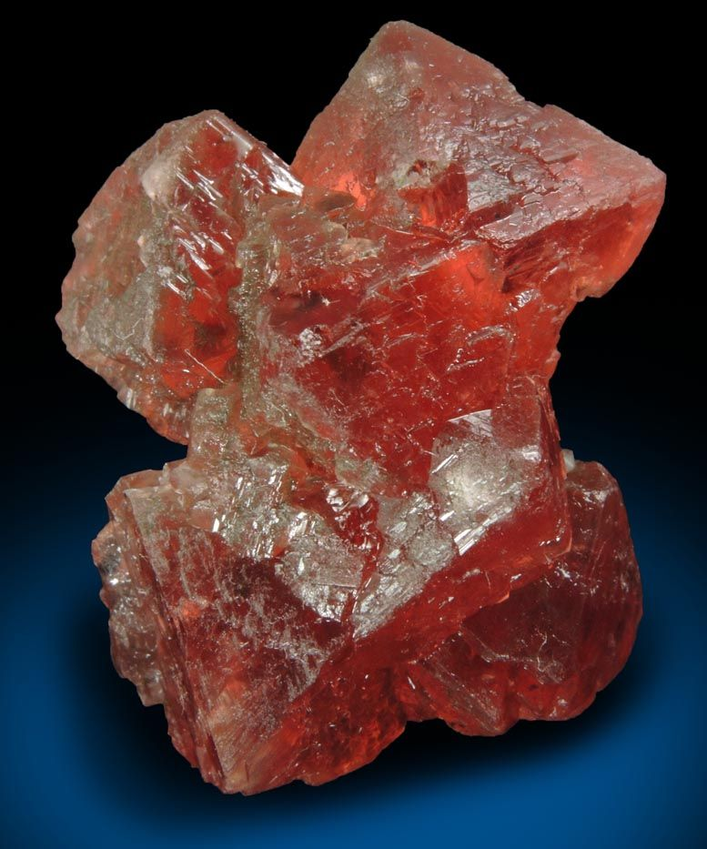 Mineral Fluorite (rare pink color) for sale from Les Droites
