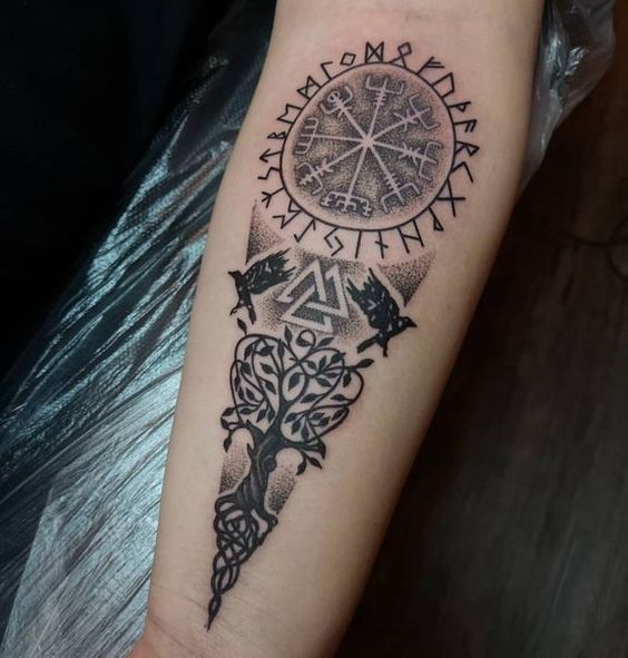 Viking Tattoos Ideas Scandinavian Tattoos Ideas For Men And Women Scandinavian Tattoo Viking Tattoos Viking Tattoos For Men