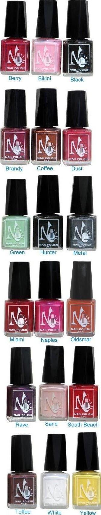 No Miss Nail Polishes. I love all of them, I can never seem to find ...