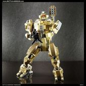 BATTLE ANDROID Robot RENEGADE Custom LEGO Robot  Mecha