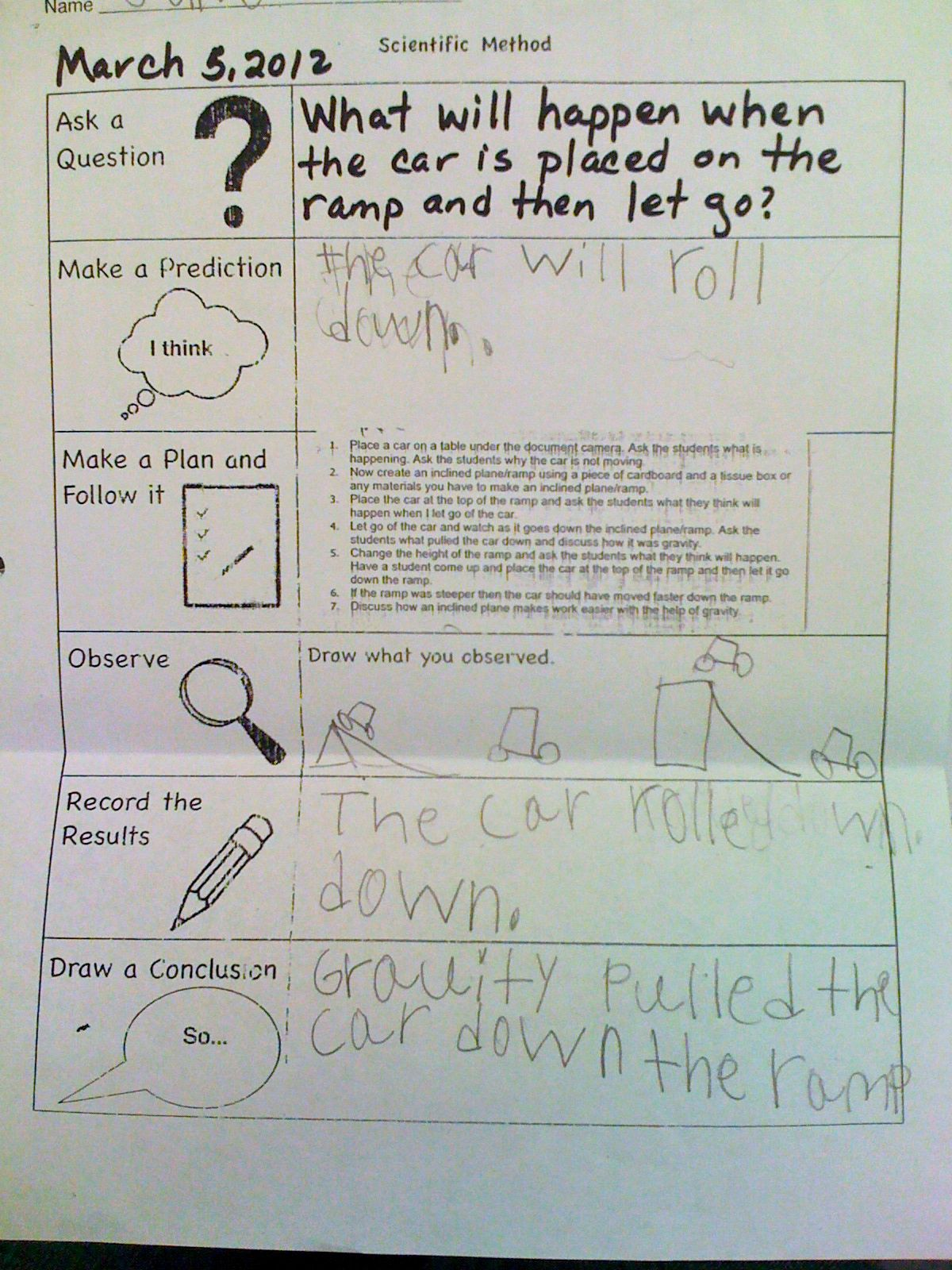 Musings Of An Organized Teacher Using The Scientific Method In Kindergarten Scientific Method Science Lessons Teaching Science [ 1600 x 1200 Pixel ]