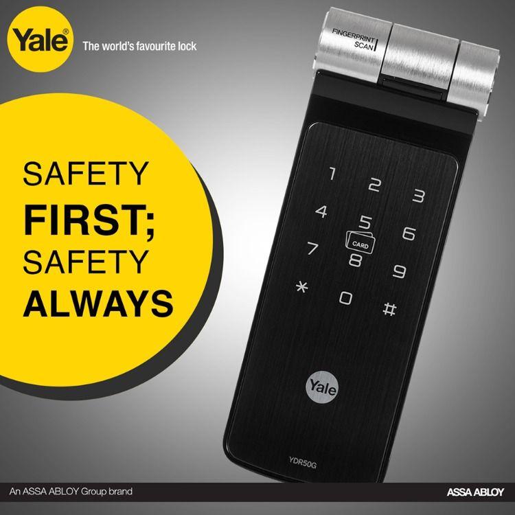 Yale Provides You The World S Smartest Digitaldoorlock With Biometric Fingerprint Sensor This Smartfingerprint With Images Fingerprint Lock Digital Door Lock Smart Lock