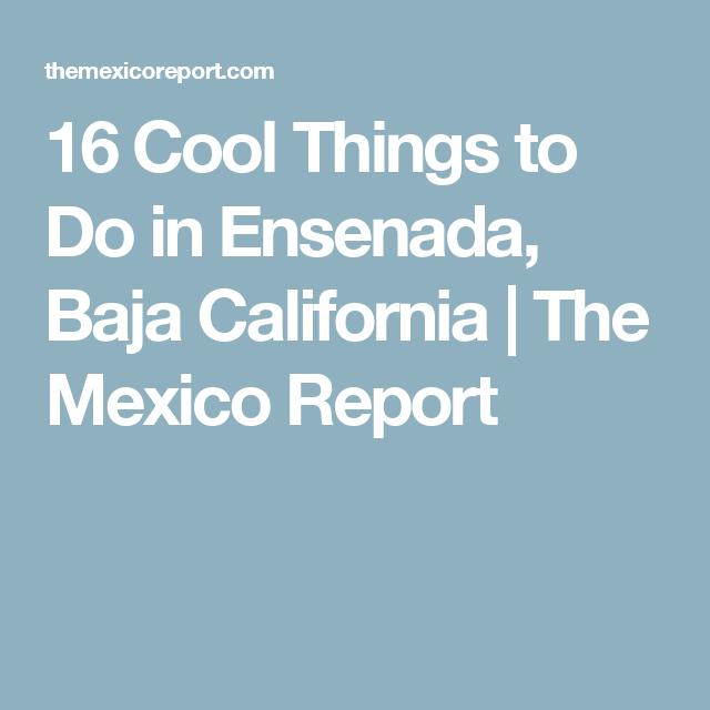 What does ensenada mean