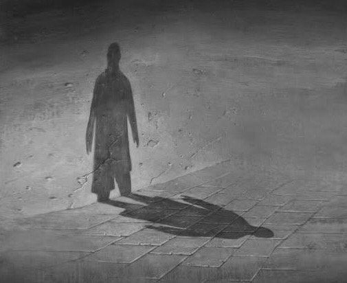 #Black and white #Shadow #loneliness