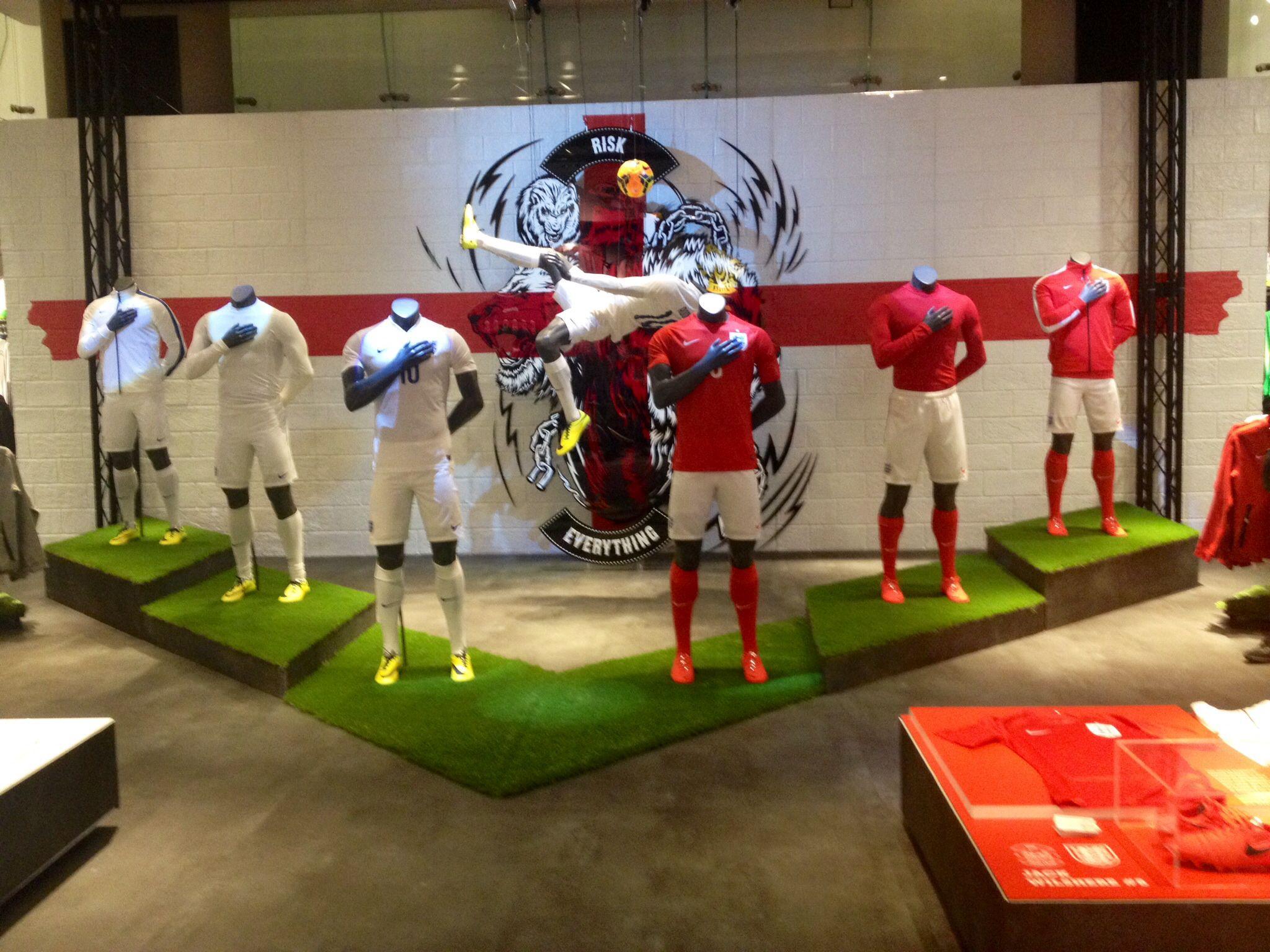 Nike Town London Football