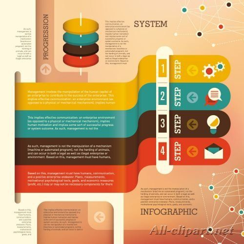 Infographics Design Elements #101 - 25 Vector