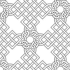 Elizabethan Blackwork Knotwork by sidney_eileen