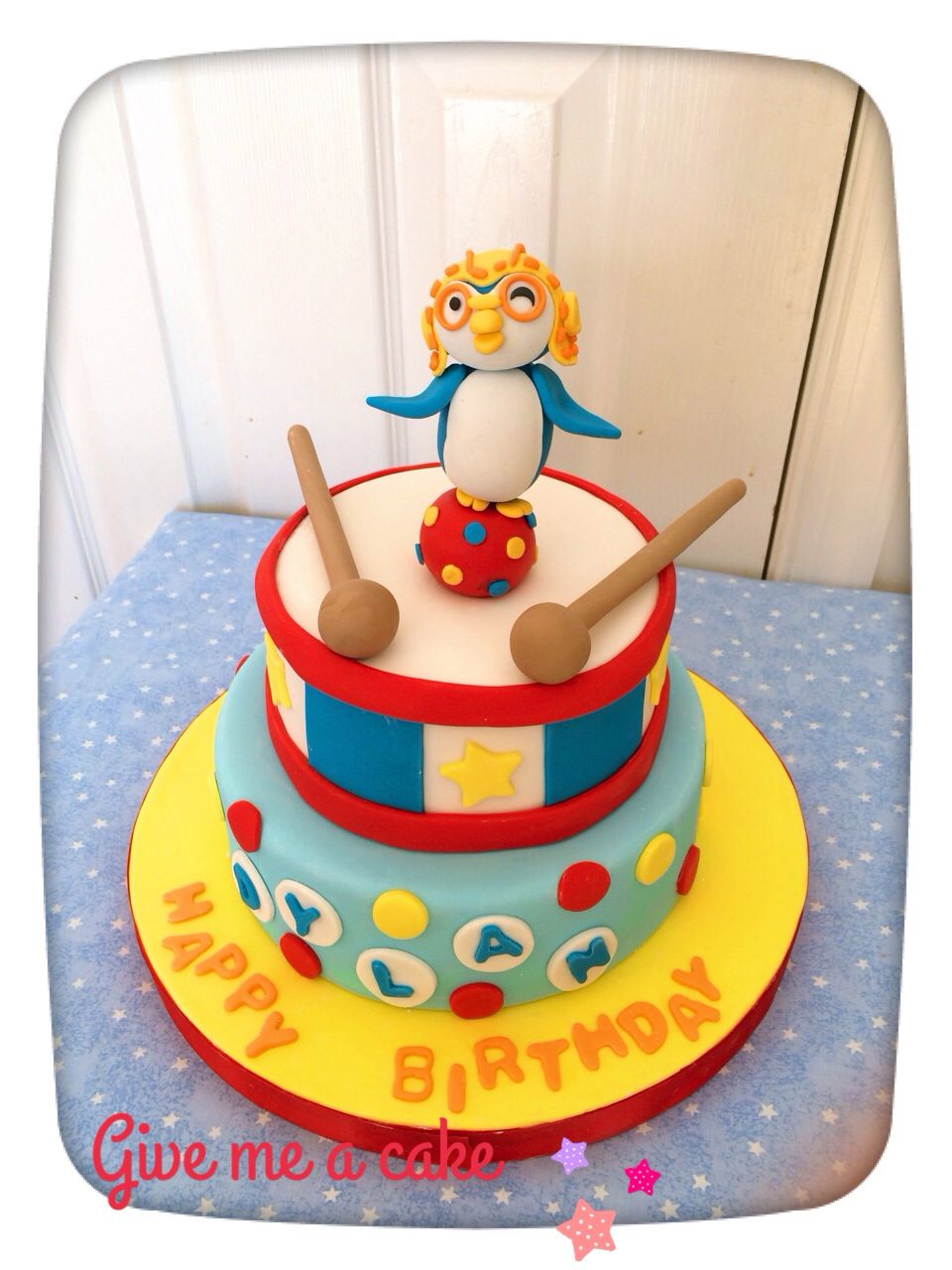 Pororo Kids Birthday Cake By Give Me A Customized At Edison Nj Contact Email Sshennycgmail