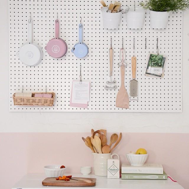 DIY kitchenboard @dilleenkamille