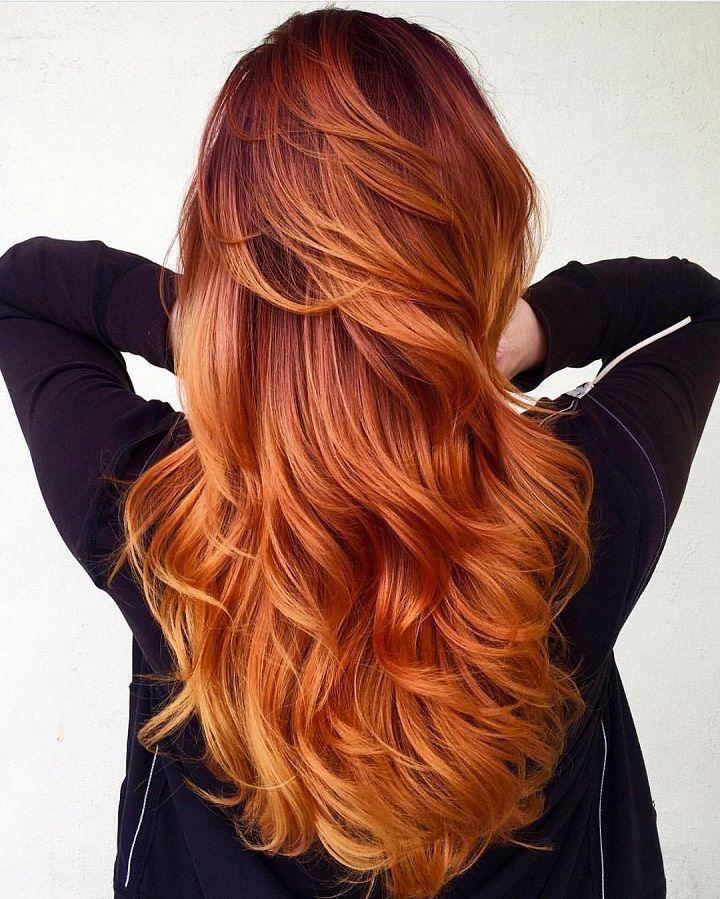 Wedding Hair Color Ideas: Auburn Hair Color For Autumn Hair Color Ideas