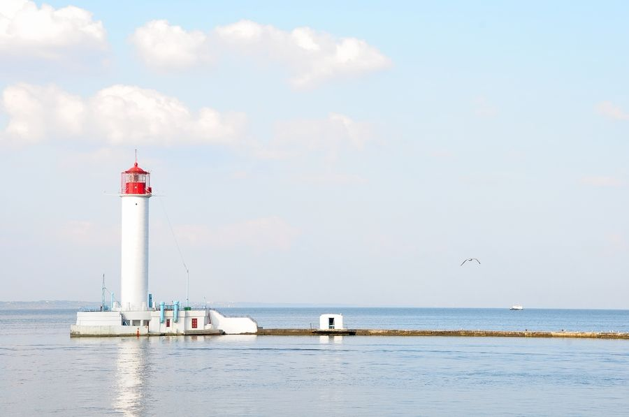 Lighthouse by Sergey Grishin, via 500px