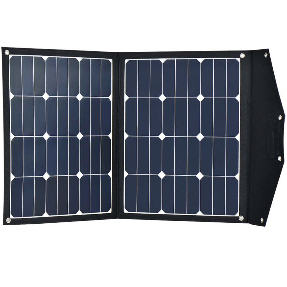 Acopower 70w Sunpower Monocrystalline Foldable Solar Panel Portable Solar Charger With 10a Cha Solar Charger Portable Portable Solar Panels Solar Panel Charger