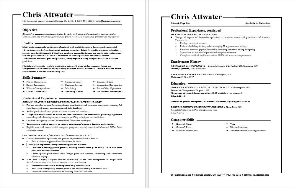 Resume format tips for functional resumes Pinterest Functional - Example Of A Functional Resume