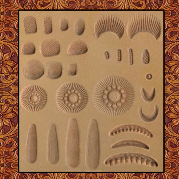 3f2ab1918 Set,Sheridan Stamping,29pc | DIY and crafts | Leather stamps ...