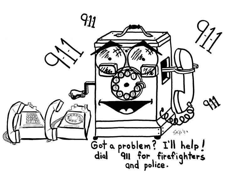 Christmas fire safety coloring pages ~ Fire Safety Theme Coloring Booklet (14 Pages) at Nuttin ...