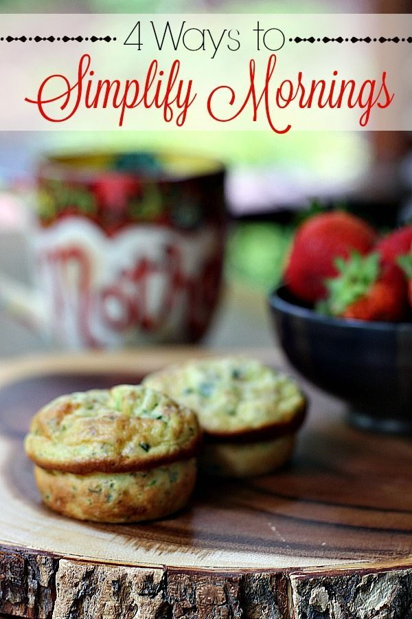 Tired of mornings that are crazy busy?  Check out these simple tips that will help simplify your mornings and make them delicious at the same time! #JimmyDeanDelights #ad