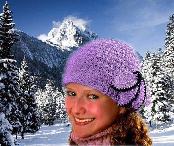 оригинальные и простые шапки спицами вязание шапок модные и