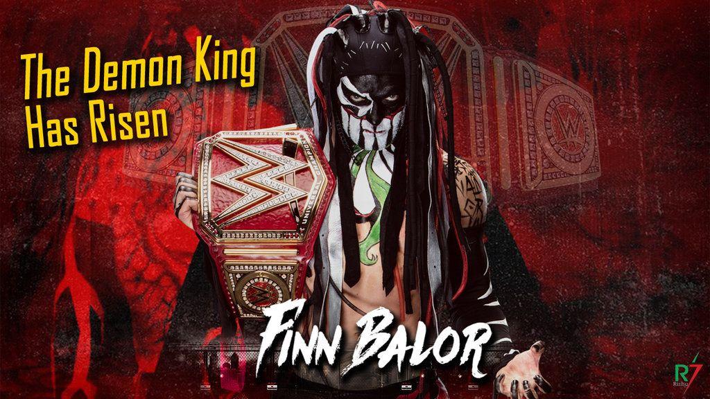 Finn Balor Universal Champion Wallpaper Finn Balor Balor Club Demon King