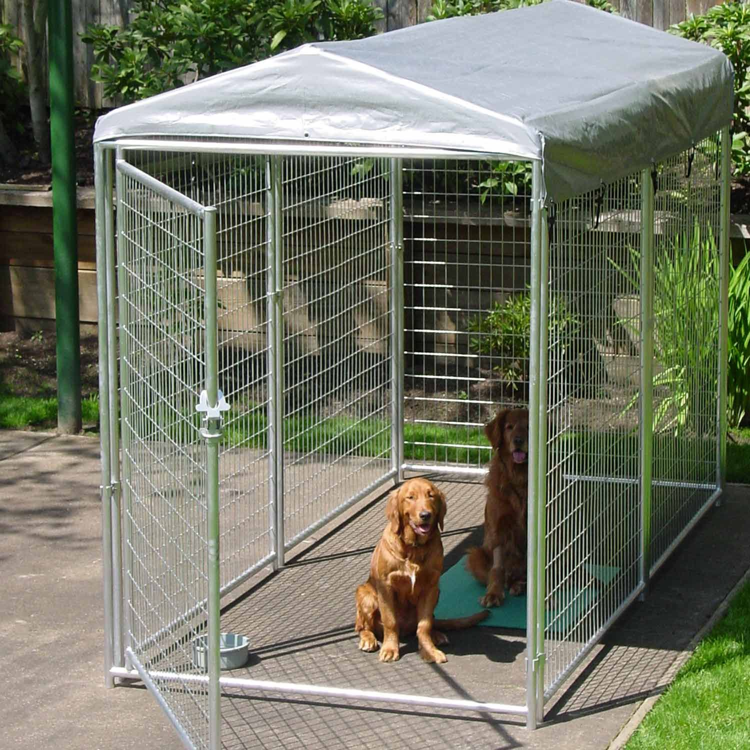 Lucky Dog Best In Show Kennel Outside Dogs Dog Gate Dog Cages